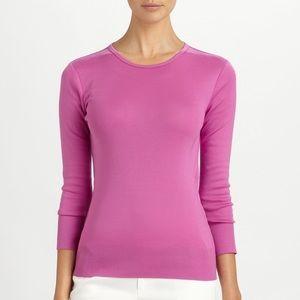 RLBL Mercerized Cotton T-shirt in Bordeaux